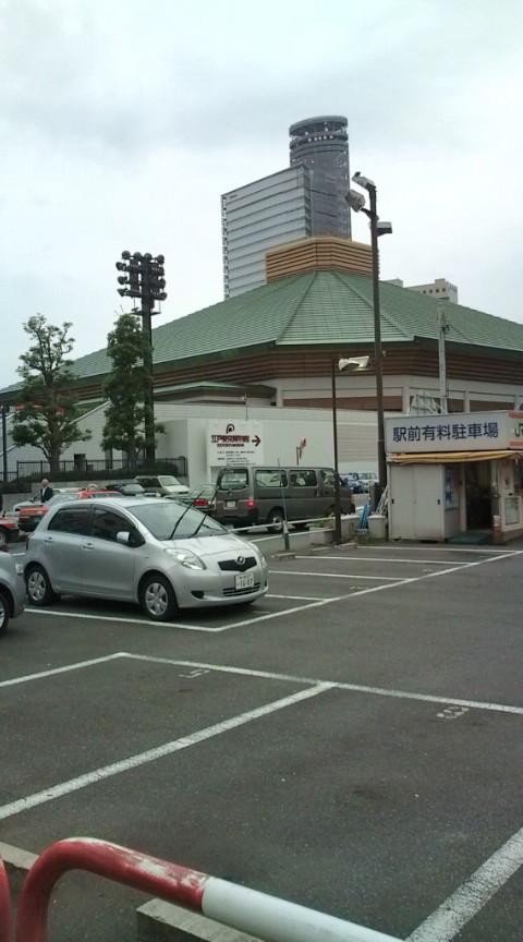 両国は相撲の街。